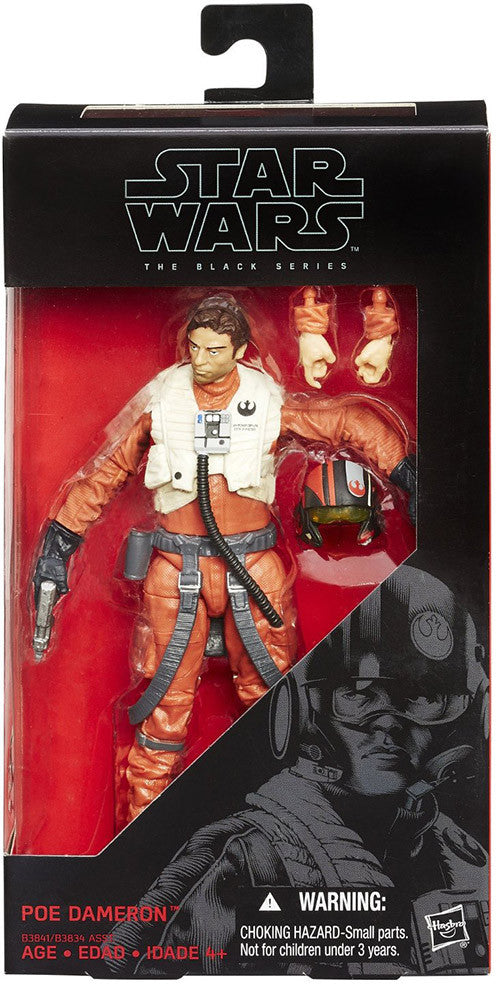 "Poe Dameron 6"" Black Series"