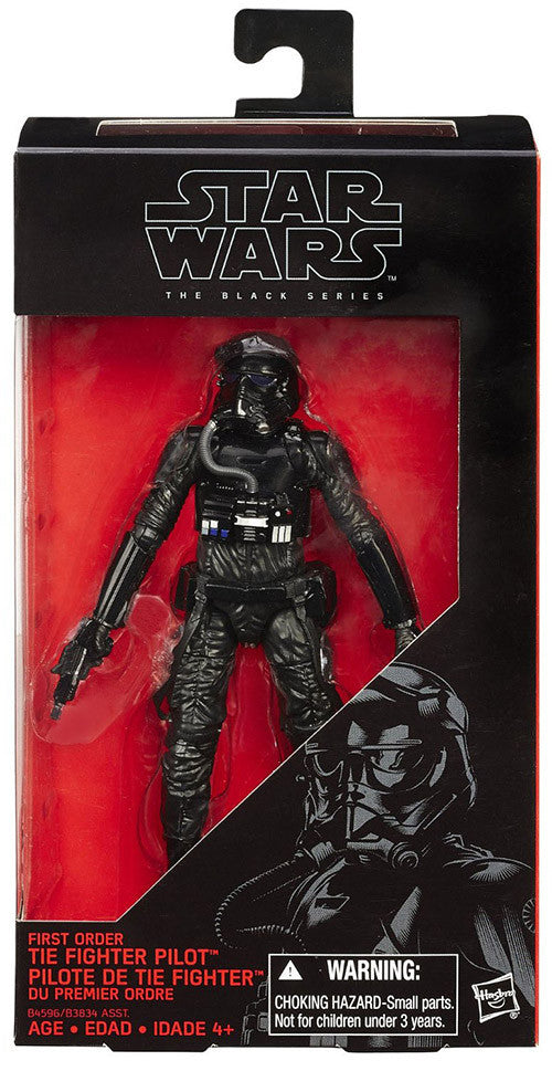 #11 First Order Tie Fighter Pilot Star Wars Black Series 6""