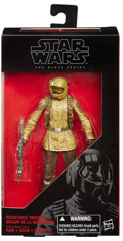 #10 Resistance Trooper Star Wars Black Series 6""