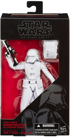 #12 First Order Snowtrooper Star Wars Black Series 6""