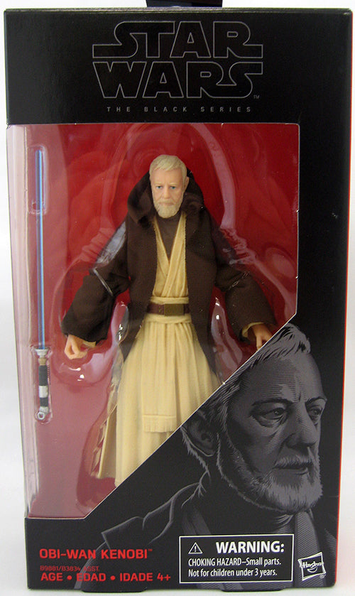 #32 Obi-Wan Kenobi Star Wars Black Series 6""