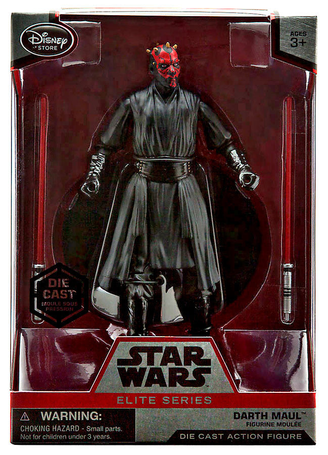 Darth Maul Elite Series Die Cast Action Figure - 6 1/2''