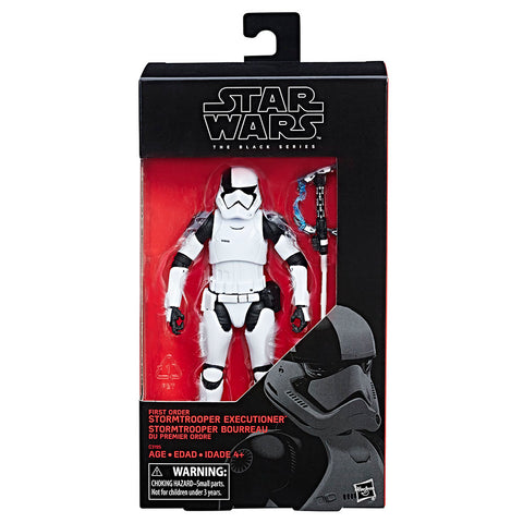 First Order Stormtrooper Executioner Star Wars Black Series 6""