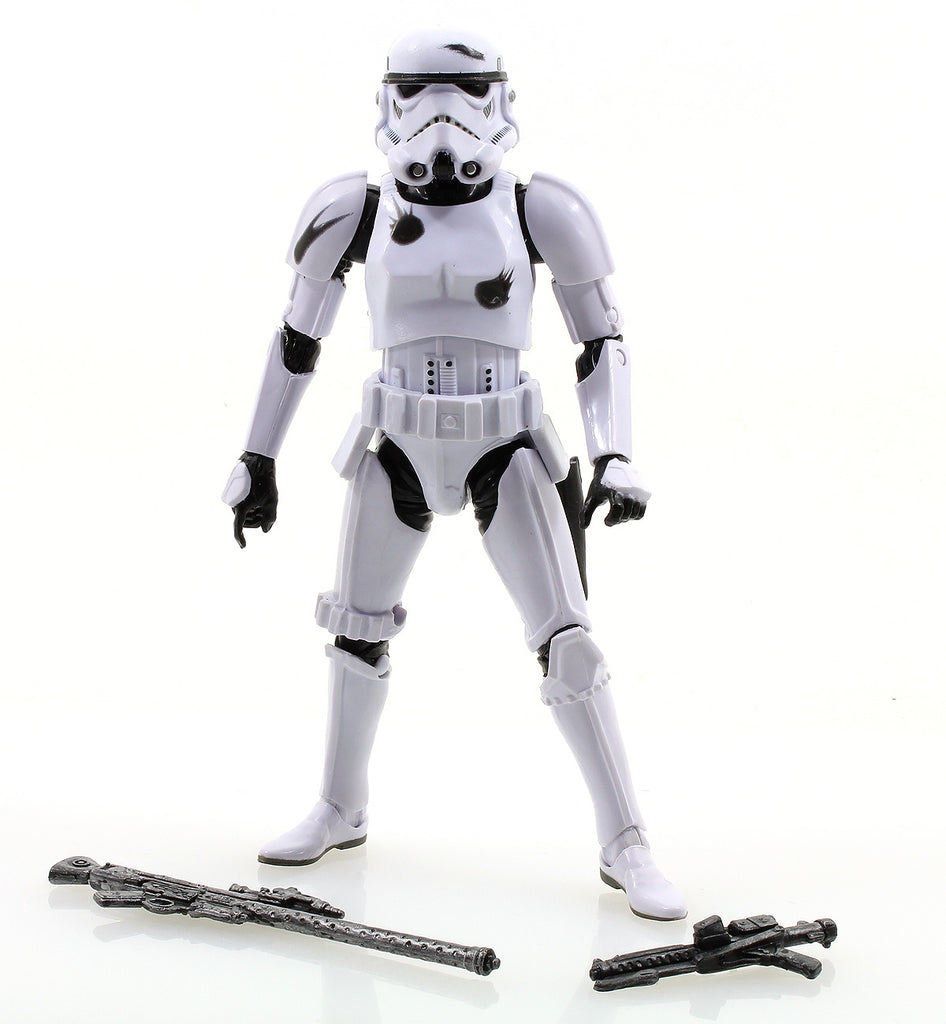 "Battle Damaged Stormtrooper Star Wars Black Series 6"" Loose"