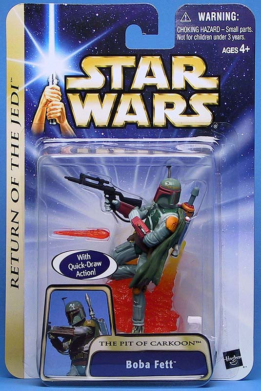 #08 Boba Fett Pit of Carkoon Star Wars 3.75""