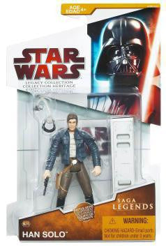 SL16 Han Solo Legacy Collection 3.75""