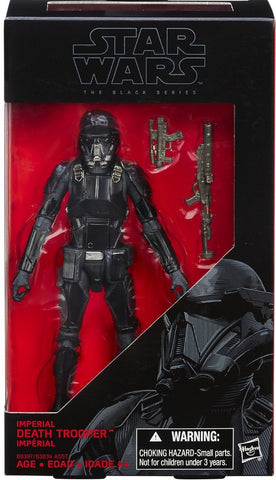 #25 Imperial Death Trooper  Star Wars Black Series 6""