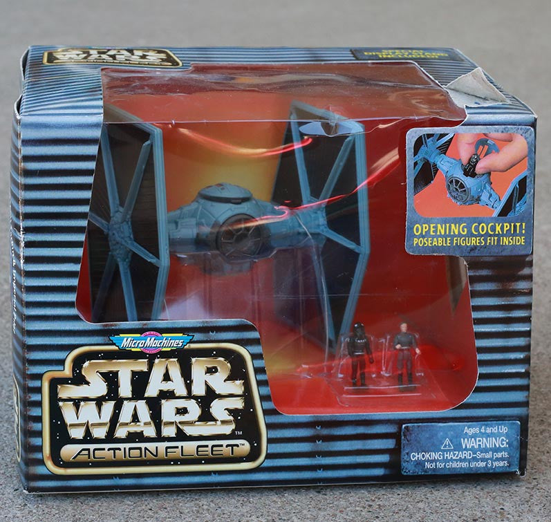 Star Wars Tie Fighter Action Fleet Micro Machines