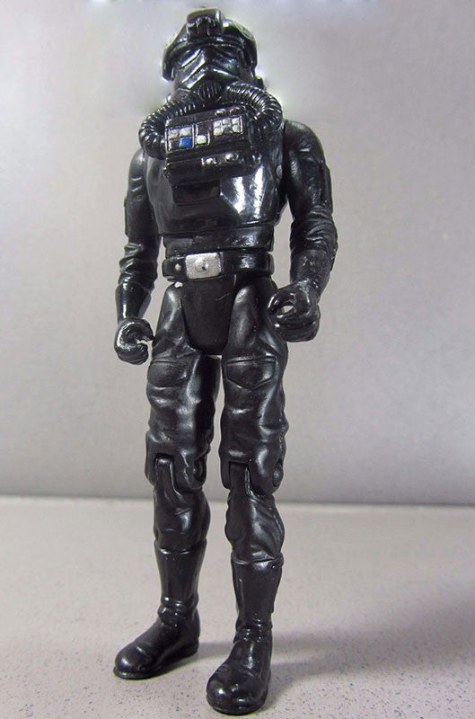 "Tie Fighter Pilot Power of the Jedi 3.75"" Loose (incomplete)"