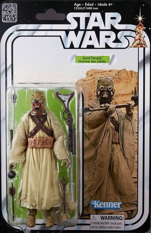 Tusken Raider Star Wars Black Series 40th Anniversary 6""