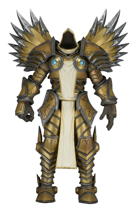 "NECA Heroes of The Storm - Series 2 Tyrael Action Figure (7"" Scale) INCOMPLETE"