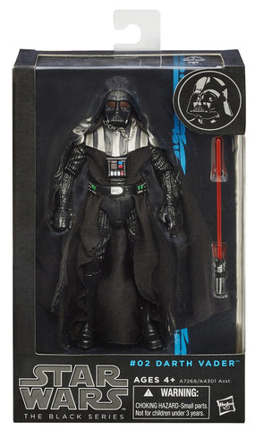"#02 Darth Vader Star Wars Black Series 6"" (OPEN BOX)"