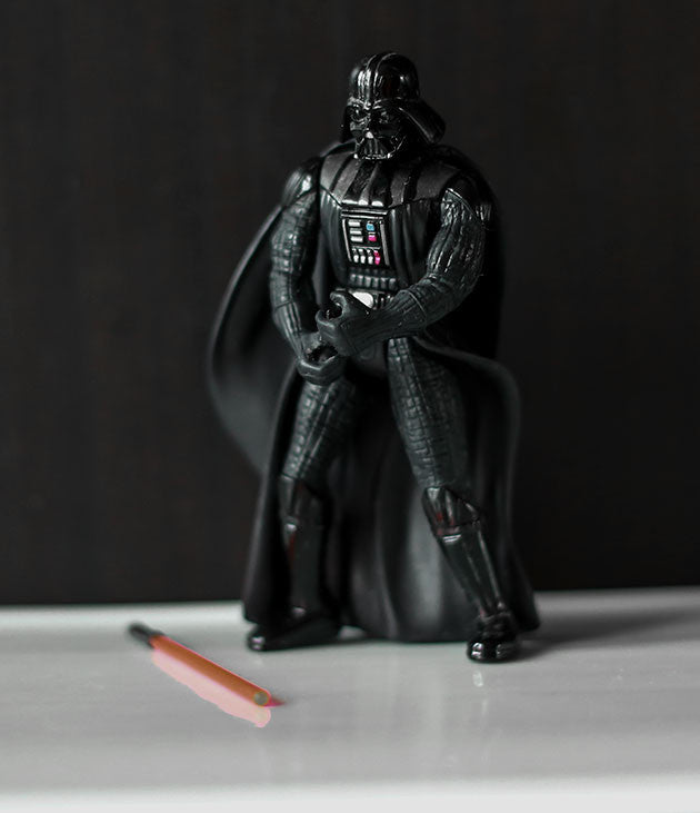 Darth Vader POTF2 Loose (incomplete)