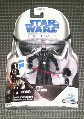 BD08 Darth Vader The Legacy Collection Build a Droid R7-Z0 3.75""