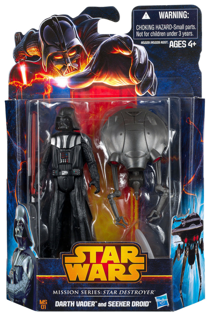 "MS01 Mission Series 3.75"" Darth Vader & Seeker Droid"