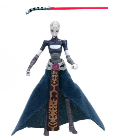 "CW15 Asajj Ventress Star Wars The Clone Wars 3.75"" LOOSE (incomplete)"