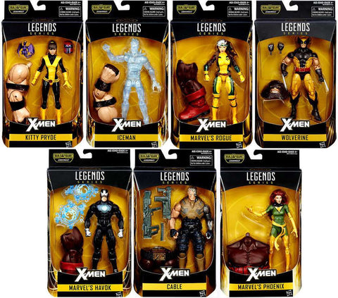 Marvel X-Men Legends BAF Juggernaut 7 Figures NEW