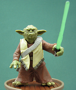 Yoda (Army Of The Republic) Clone Wars (Realistic) #44 3.75""