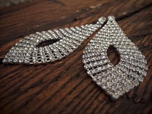 ABIGAIL CRYSTAL RHINESTONE EARRINGS