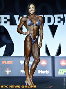 Competition Figure Suits - Ombre Deluxe Mr. Olympia Suit