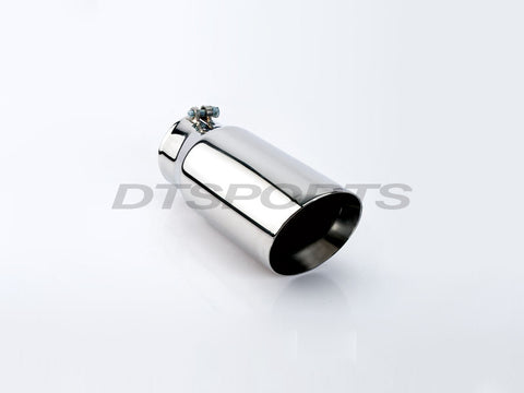 "5"" DOUBLE WALL ANGLE CUT EXHAUST TIP - Flowrite Exhaust Systems"