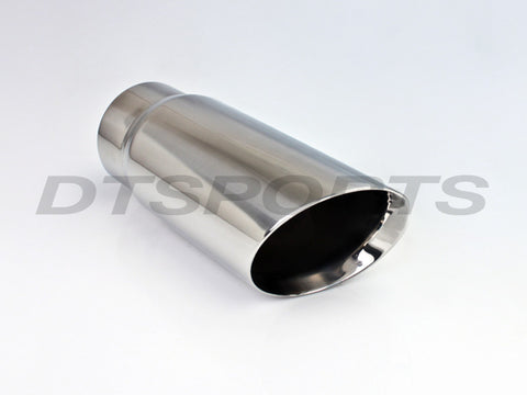DOUBLE WALL ANGLED EXHAUST TIP - Flowrite Exhaust Systems