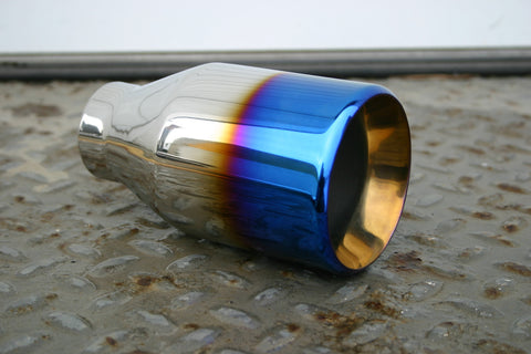 "4"" BLUE FLAME EXHAUST TIP - Flowrite Exhaust Systems"
