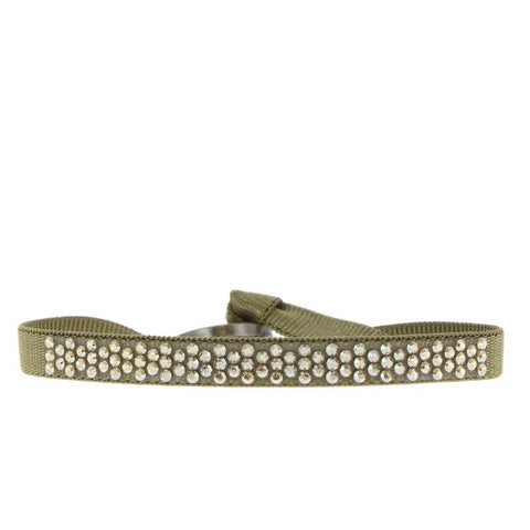 Honeycomb Bracelet - Medium Khaki