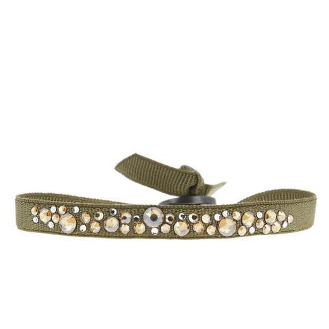 Constellation Bracelet - Medium Khaki