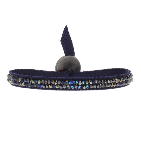 Fine Rocks Bracelet - Navy & Blue