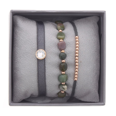 Bezel Strass Box