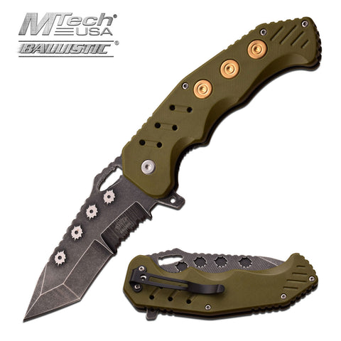 Bullet Tactical Blade - Army Green