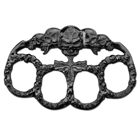 Skull Knuckles - Black