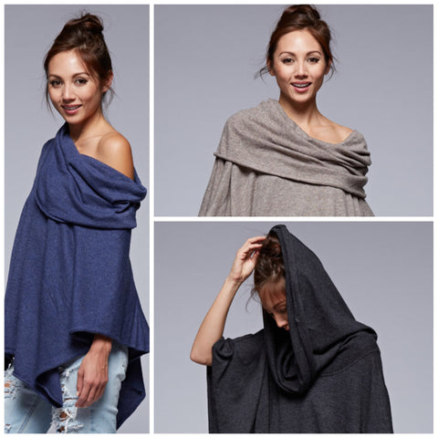 Super Soft Cashmere Like Poncho
