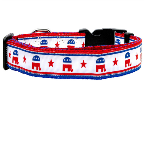 Political Nylon Republican Collar