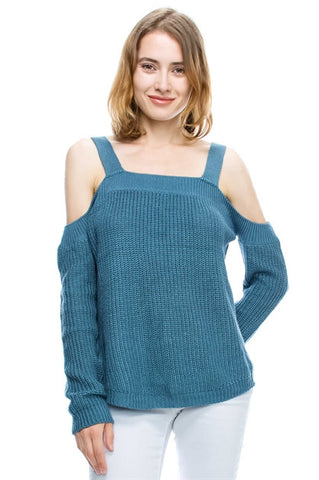 MB Cold Sholder Sweater