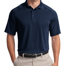 Navy Moisture Wicking Polo