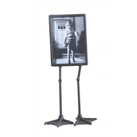"5x7"" Metal Photo Frame w/ Duck Feet"