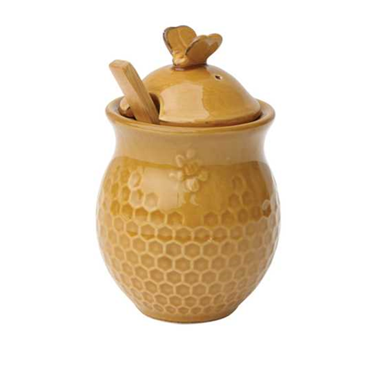 Dolomite Honey Comb Honey Jar