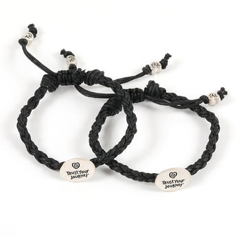 Share® TYJ® Bracelets (Black) - Trust Your Journey
