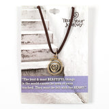 Beautiful Things Necklace - Trust Your Journey
