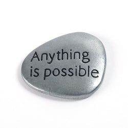 Anything is Possible Stone - Trust Your Journey