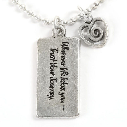 Wherever Necklace - Trust Your Journey
