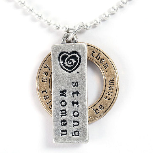 Strong Women Necklace - Trust Your Journey