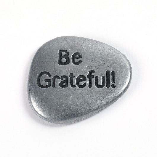 Be Grateful Stone - Trust Your Journey