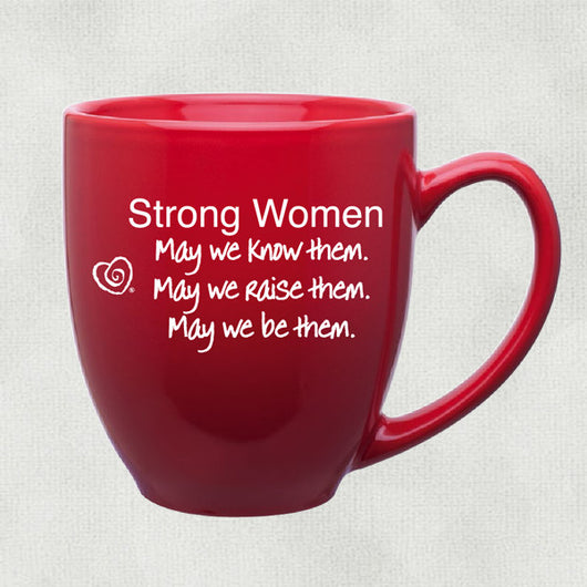 Strong Women Mug - Trust Your Journey