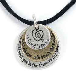 A Friend Necklace - Trust Your Journey