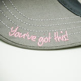 Heart Filled Hat - Trust Your Journey
