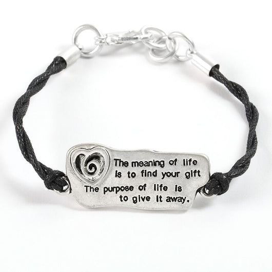 The Meaning of Life Bracelet - Trust Your Journey