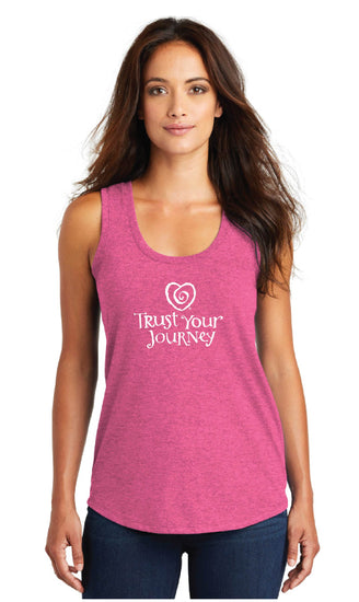 TYJ Tank-Pink - Trust Your Journey